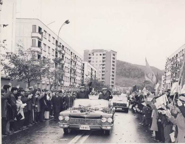 Vizită a lui Ceauşescu