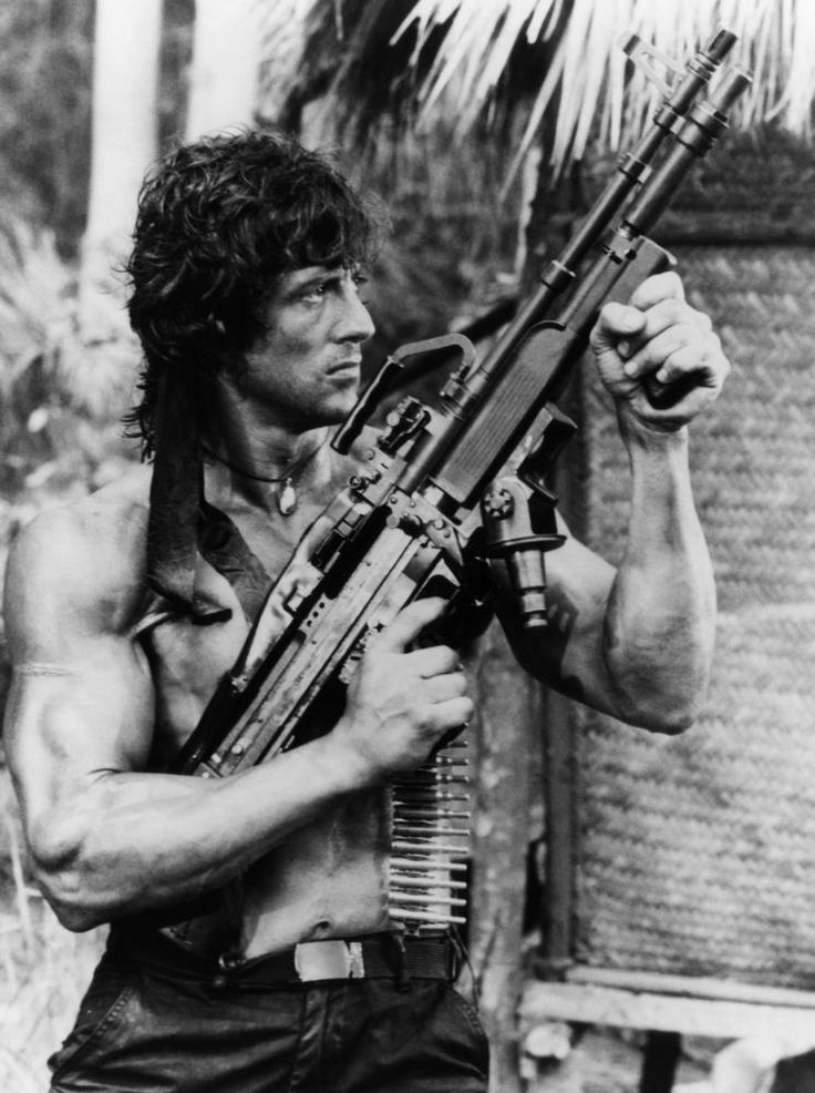 RAMBO:FIRST BLOOD PART II, Sylvester Stallone, 1985, (c) TriStar Pictures