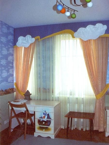 Window treatments for kids rooms fun decor for kids for Kid curtains window treatments