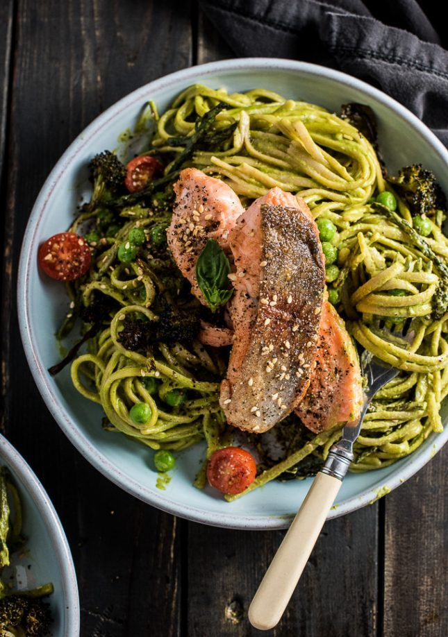 12 Green Pasta Dinner Recipes Ready in Under 30 Minutes via Brit + Co
