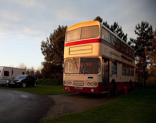 Converted London double decker bus.. basically a fantastic ...