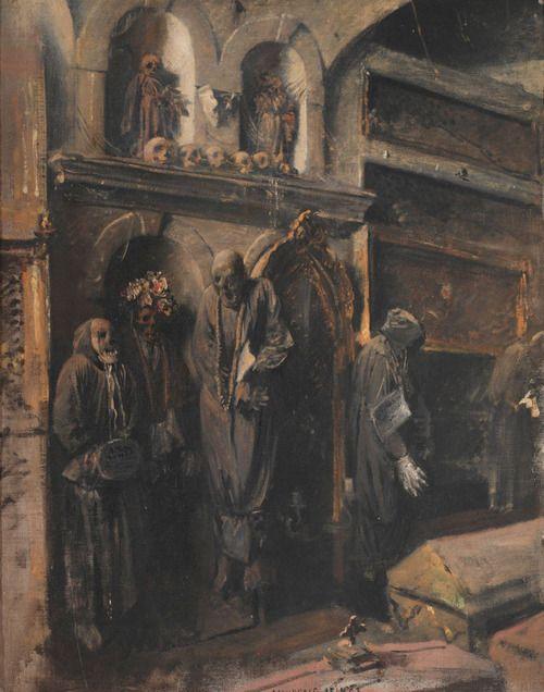 Monreale by Jakub Schikaneder (1855 - 1924, Prague)