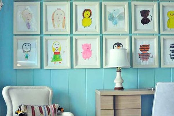 Unique Ways for Wall Decorating