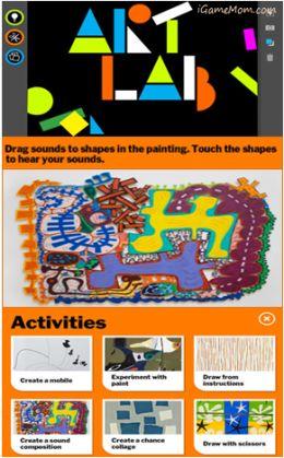 A great app teaching kids modern art via hands on project ideas - #Free for limited time (Nov.4) #kidsapps #ArtApps