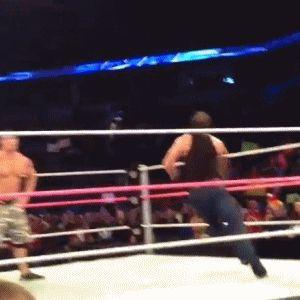 Dean Ambrose being Crazy Again