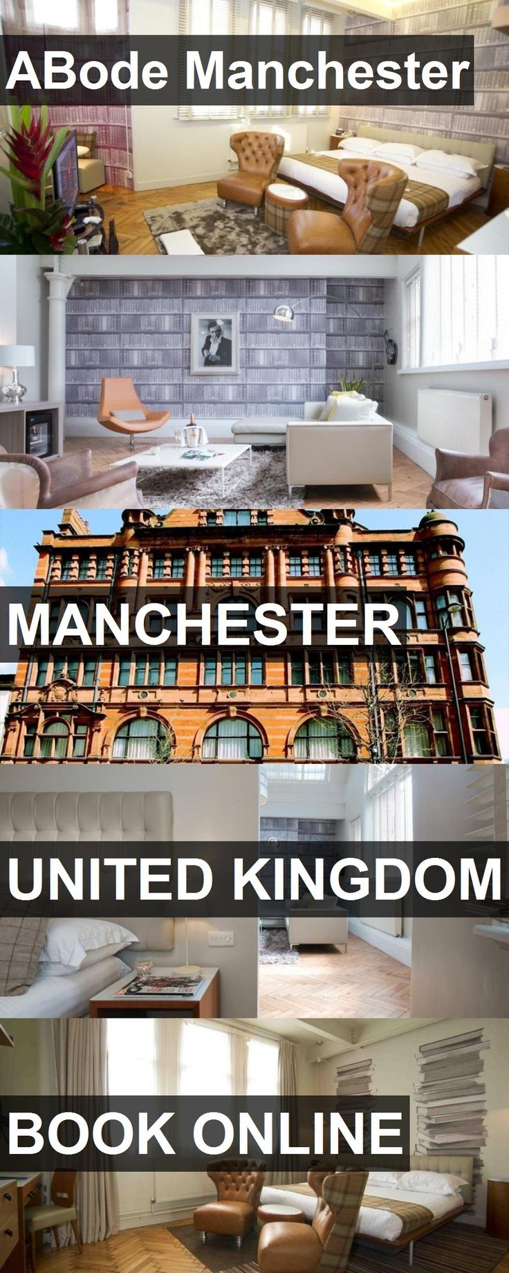 Hotel ABode Manchester in Manchester, United Kingdom. For more information, photos, reviews and best prices please follow the link. #UnitedKingdom #Manchester #travel #vacation #hotel