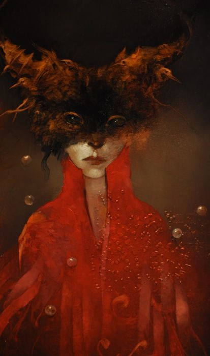 """Anne Bachelier   One of my favorite painters     """"Metamorphosis, transition, and evolution provide the common threads of the art of Anne Bac..."""