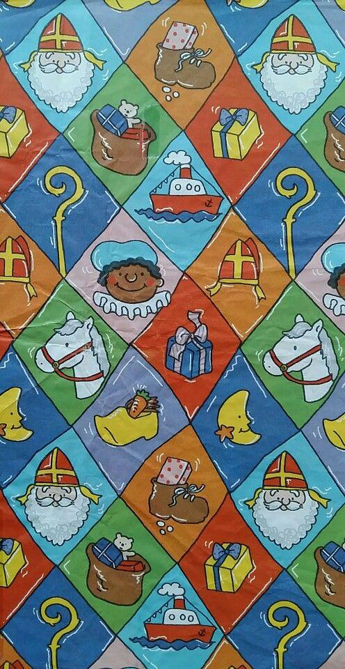 Sinterklaas inpakpapier / cadeaupapier