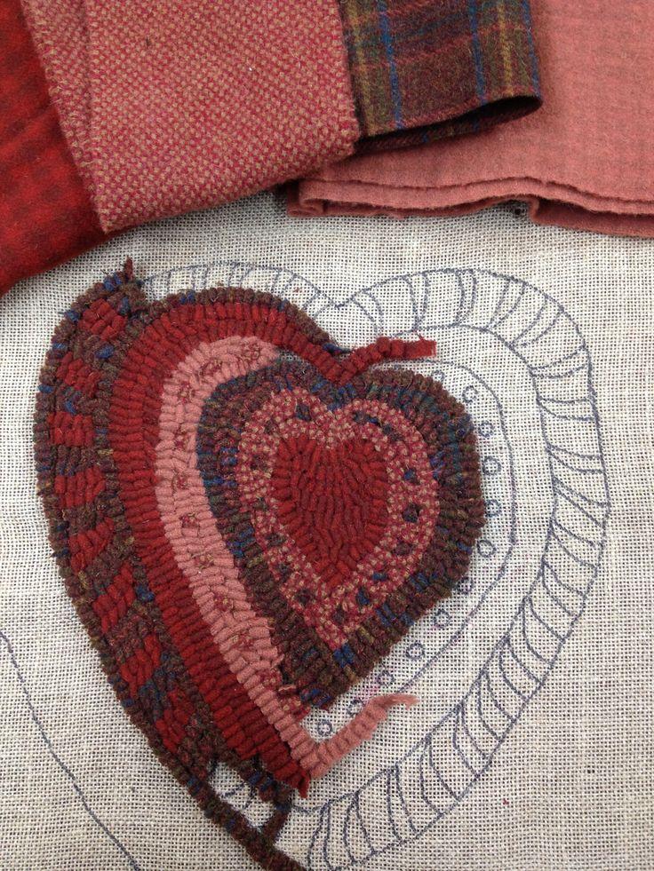 8252 Best Rug Hooking Images On Pinterest Wool Rug Rag