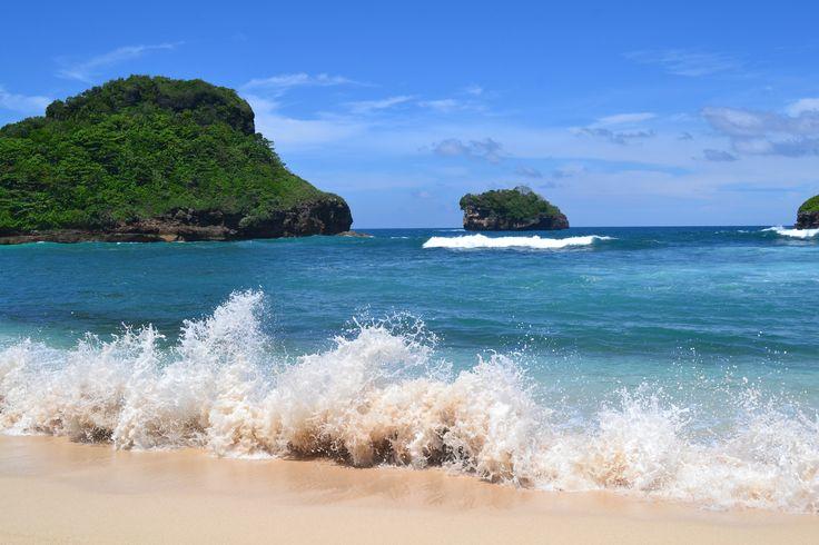 Goa Cina Beach.. #beach #travel #malang