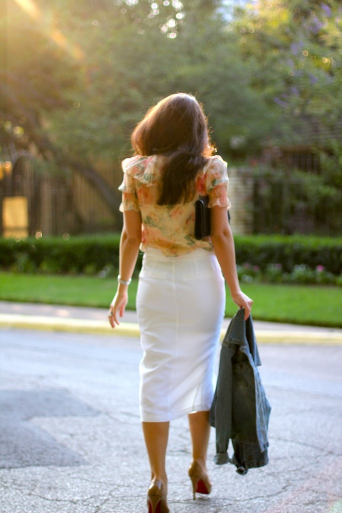 touch of floral: Street Styles, Dallas Wardrobes