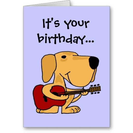 happy birthday funny dog card - photo #22