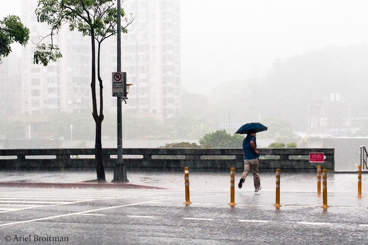 Rain in Taipei | Ariel Broitman Photography