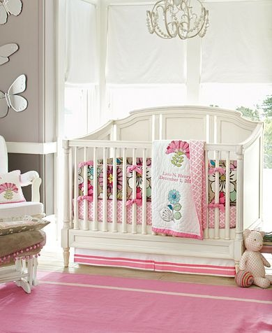 Bedding if i have a girl potterybarnkids
