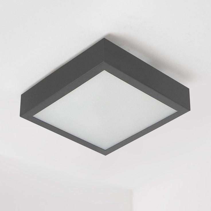 Plafon Nekla 50 - grafit, Indeks: PF103f1152P2107 - LampyDoDomu.pl