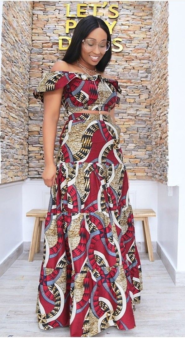 Pin By Ngah Kede On Tenue De Mariage Africain African Maxi Dresses Latest African Fashion Dresses African Wear Dresses