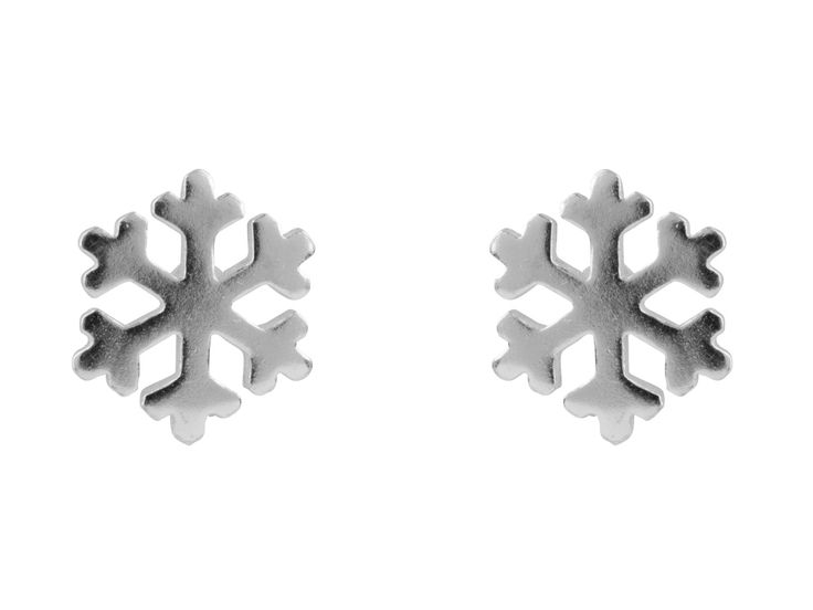 Sterling Silver Stud Snowflake Earrings: http://www.cooksongold.com/Finished-Jewellery/Sterling-Silver-Earrings-Snowflake-Stud-prcode-XSS-2067