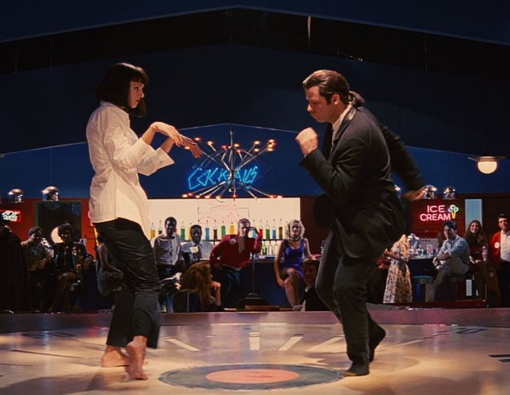 Recreate A Movie Date: Pulp Fiction. A date in all but name, Mrs Mia Wallace and Vincent Vega's night on the town has everything: '50s diner with $5 shakes, steak cooked bloody as hell, Steve Buscemi as your waiter, and of course the world famous Jack Rabbit Slim's twist contest.