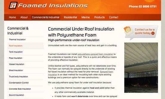 """What is """"under roof insulation""""? According to Sydney insulation business owner Lawrence Wolf, it's very different from ceiling insulation http://www.foamedinsulations.com.au/content_common/pg-roofinsulation.seo Underfloor / Underroof / Melbourne / Australia"""