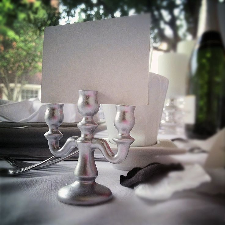 Our Silver Finished Candleabra Place Card Holders Are Perfect For A Vintage Fairytale Disney