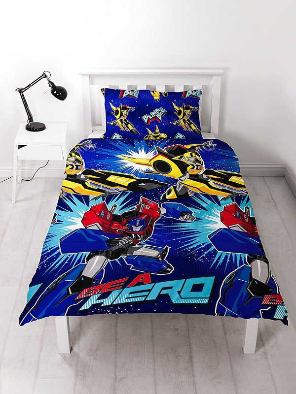 Transformers Hero Single Duvet Cover Set Polyester £12.95 Free UK Delivery