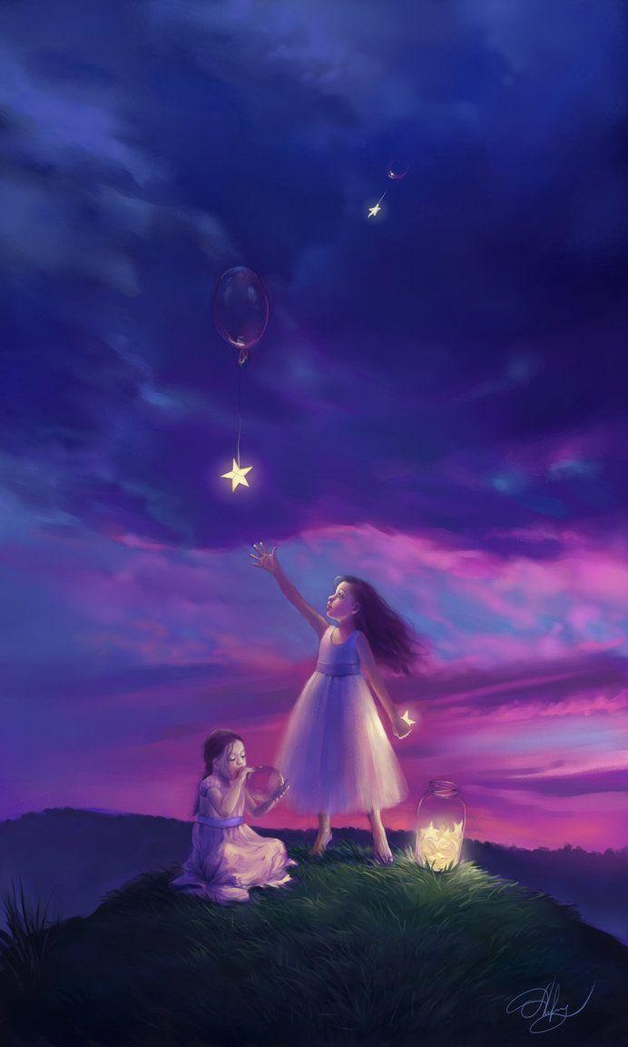 Festmenyek 3d ben 575 - Ulyana Regener Wish Stars 2011 695x1153