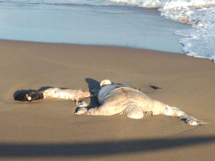 Hallan cuerpo en playas de Coatzacoalcos, Veracruz - http://www.notimundo.com.mx/estados/hallan-cuerpo-playas-veracruz/