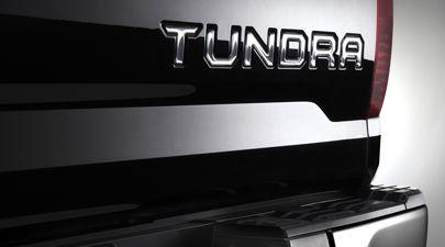 Genuine Toyota Tundra Chrome Tailgate Emblem Pt948 34150
