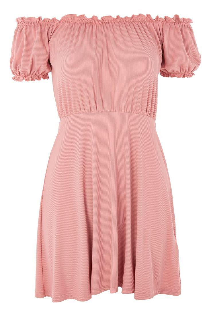 PETITE Bardot Skater Dress - Dresses - Clothing - Topshop USA