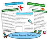 Scavenger hunts for teens (and others). Send them out with a camera on a day they are bored in summer.