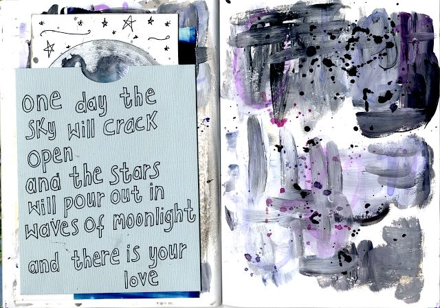 @julia_t  | One Day | Pop Out | Season of Magic | Get Messy Art Journal | Creative Team Inspiration