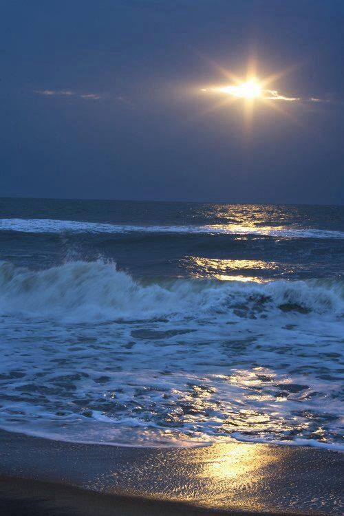 Moonlight @ surfside beach, sc