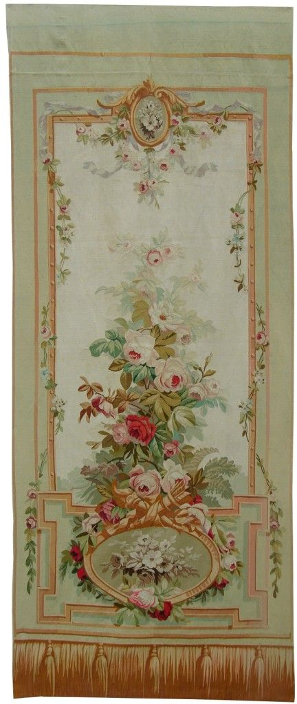 FRENCH AUBUSSON TAPESTRY ~ I think this would be a lovely painting inspiration!