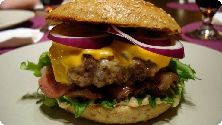 Juustohampurilainen - Double Cheese & Bacon käyttäjältä devilchef.