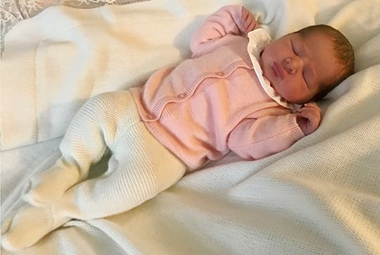 Princesse, 9 mars 2018, Photo officielle pour la naissance de la fille de la Princesse Madeleine