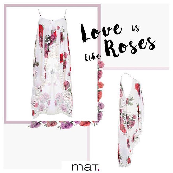 🌹Τι πιο ρομαντικό από ένα μπουκέτο τριαντάφυλλα; Ντύνουν με μοναδικό θηλυκό στυλ αυτήν την πανάλαφρη ασύμμετρη τουνίκ με το κροσέ τελείωμα & μας χαρίζουν τις πιο εντυπωσιακές layered εμφανίσεις!  Aνακάλυψε την αποκλειστικά online [code: 671.7168]  #matfashion #plussize #collection #psblogger #realsize #roses #rosegarden