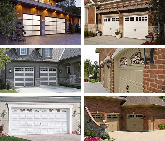 Clopay Garage Doors Come In A Variety Of Designs From Traditional To Carriage House To Contemporary Garage Doors Garage Door Installation Garage Service Door