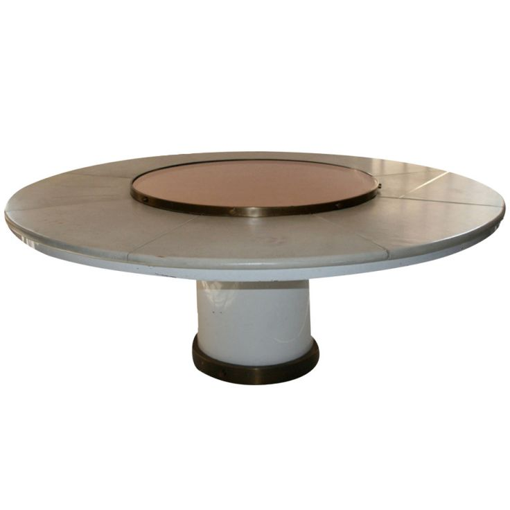 Bronze and metal table by Marzio Cecchi, 1970. | From a unique collection of antique and modern dining room tables at http://www.1stdibs.com/furniture/tables/dining-room-tables/