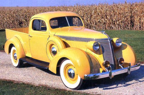 1937 STUDEBAKER P/UCars, 1937 Studebaker, Beautiful, Wheels, Auto, Classic Trucks, Studebaker Pickup, Yellow,  Pickup Trucks