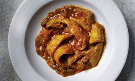 An unusual way of preparing tripe from the late Sonia Allison's delightful book on the food of the Cape Malay community in South Africa, Cape Malay Cooking