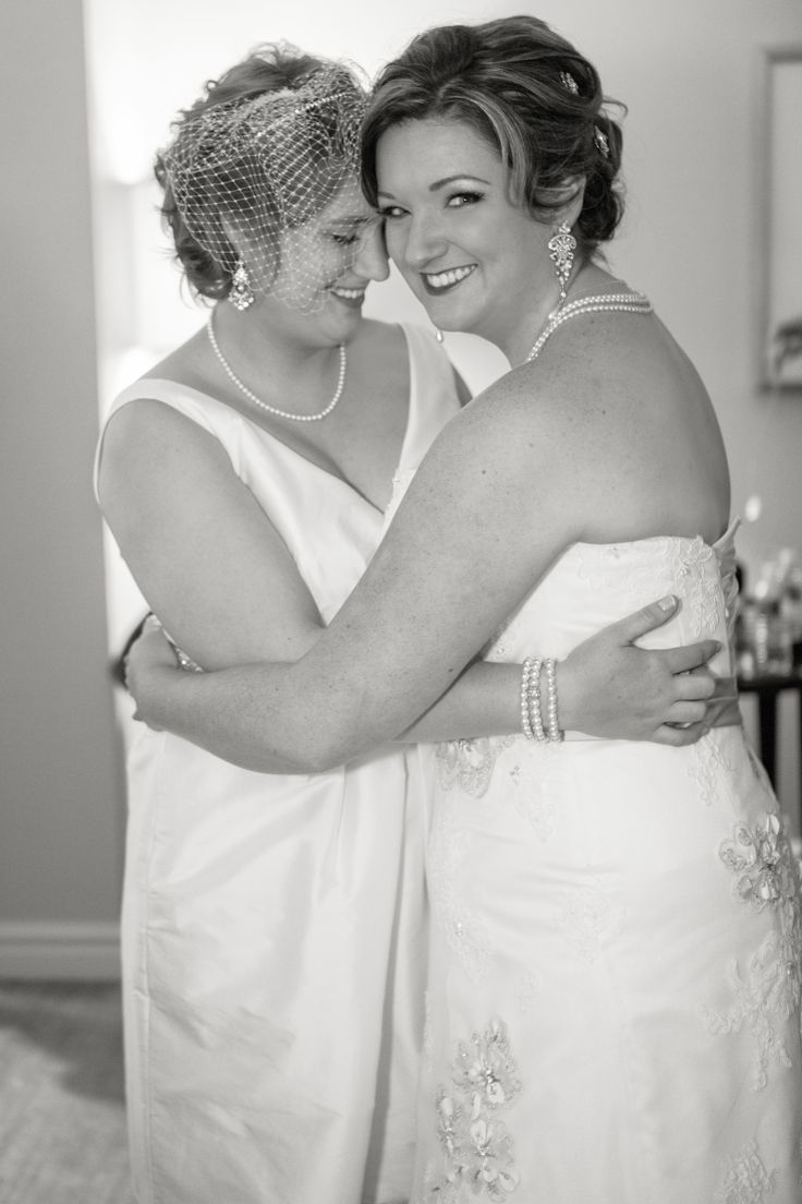 Lexi + Corinne Two brides are better than one, lesbian wedding ...