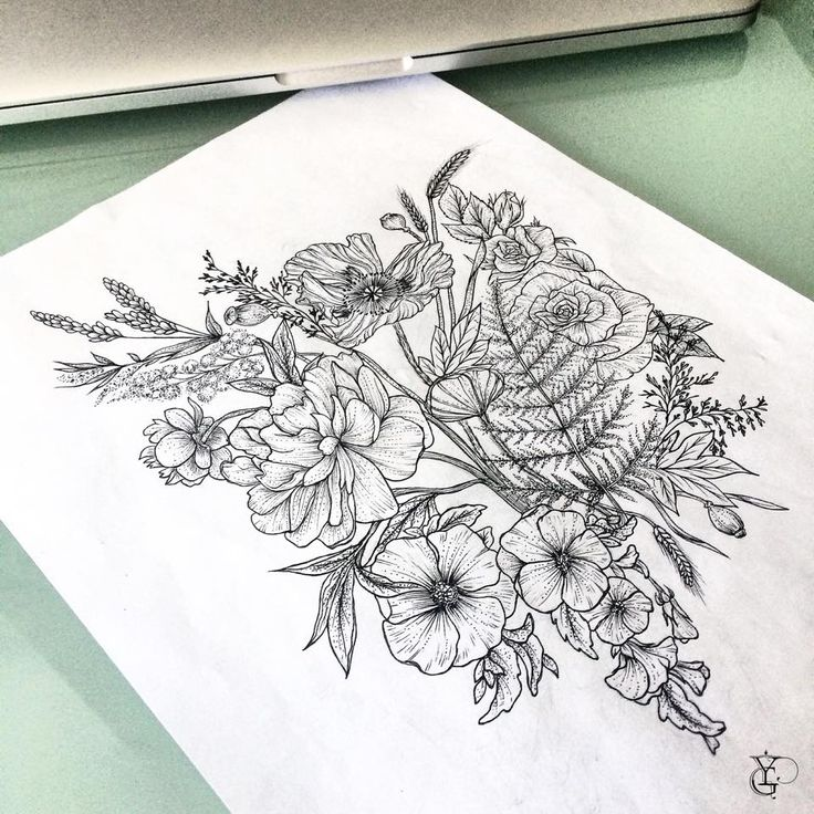 Not the fern leaf or roses, like everything else.   YG Tattoo - Floral