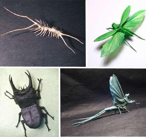 Foldaway Tote - Flying Winged Insect by VIDA VIDA PYrmHQmd
