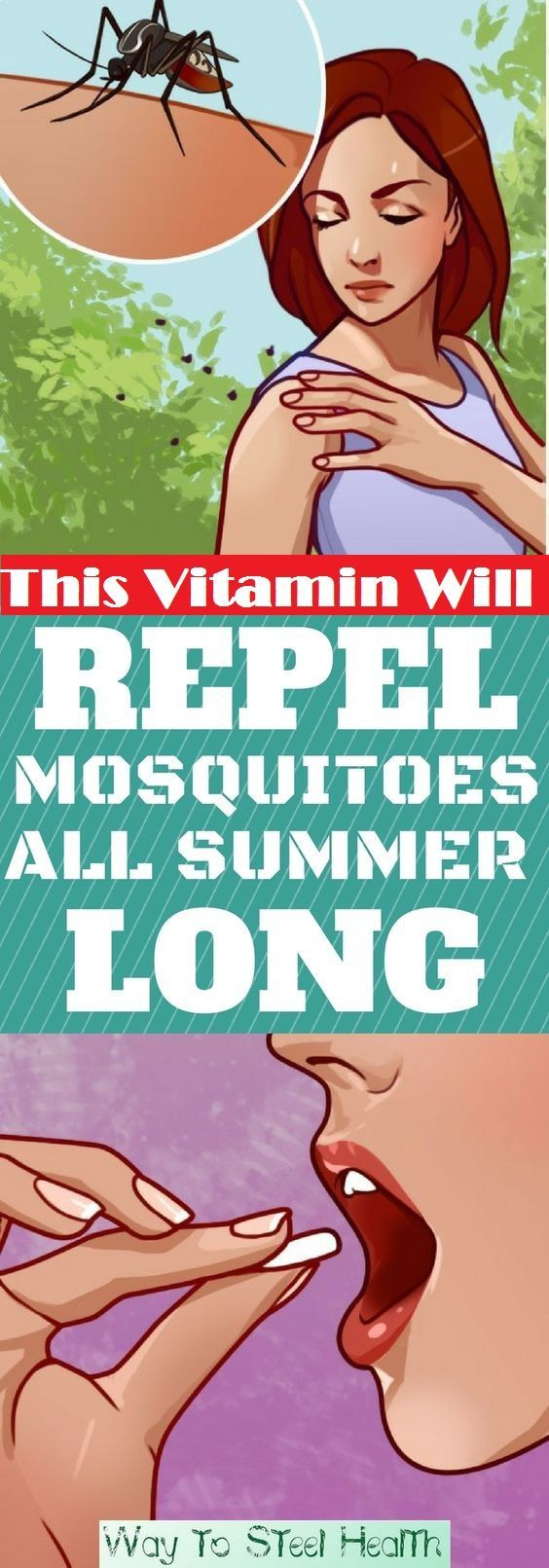 Taking Vitimin B1 25-50mg three times a day and it helps repel mosquitoes all summer long
