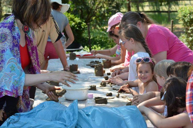Kézműves foglalkozás - Debreceni Táborozás