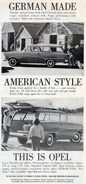 1959 Opel Rekord Caravan