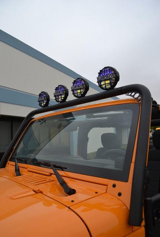 Front light bar for Jeep Jk all models
