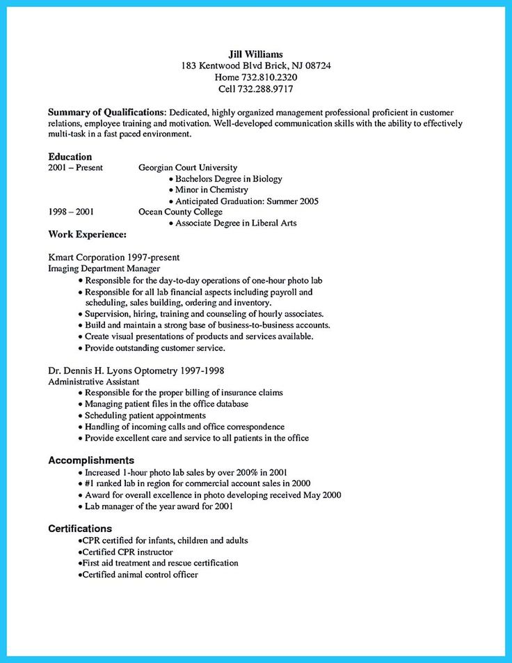 Best 25+ Resume objective sample ideas on Pinterest Sample - medical billing and coding resume