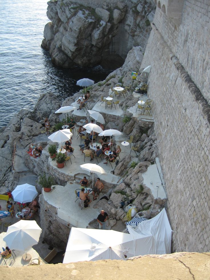 Maybe the coolest bar in the world - Dubrovnik, Croatia