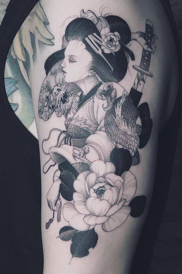 Japan Women Tattoo For Men By Kubrick Ho Taiwan China